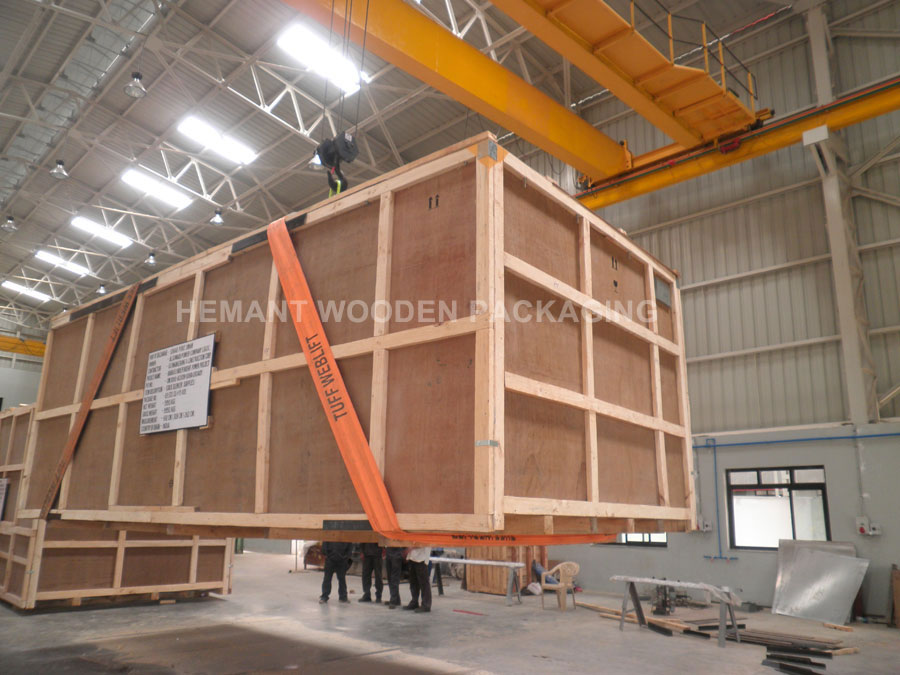 Industrial Heavy Machine Packaging Boxes Heavy Machine