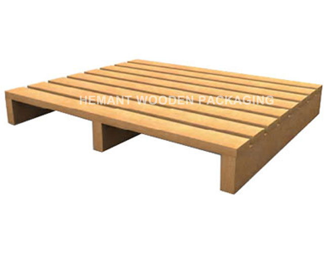 Two Way Pallets Single Deck Reversible